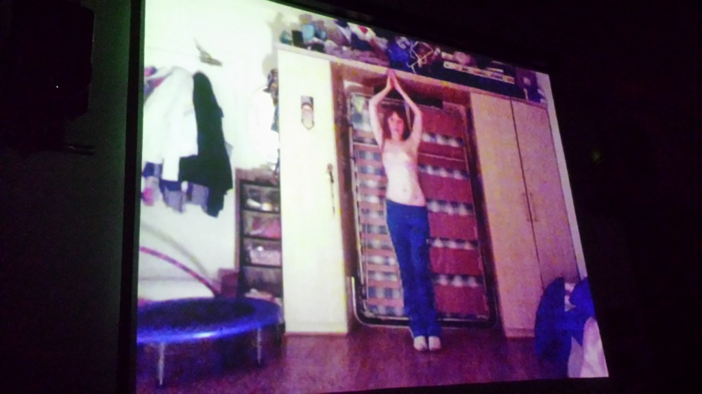 Making Adidas Mermaid - Sophie Beresford on screen at ATA, San Francisco