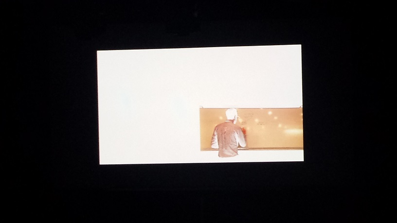 Cohesion by Daniel Shanken on screen at Space 55 with No Festival Required