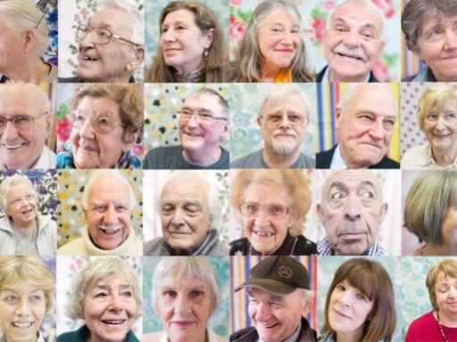 Photographs of participants, taken by Elizabeth Doak.